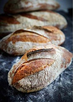Recent Work: The Bread Factory (Boule de Meule) Bread Bun, Bread Rolls, Bread Recipes, Real Food Recipes, Spoon Bread, Rustic Bread, Our Daily Bread, Bread And Pastries, Fresh Bread