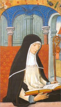 St. Audrey [Etheldreda]