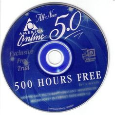At one point in the 1990s, 50% of all CDs produced worldwide were for AOL.
