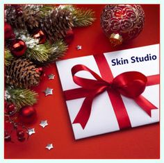 Need gift idea?  Gift Certificates are available by email, perfect present for holidays! www.skinstudioboston.com
