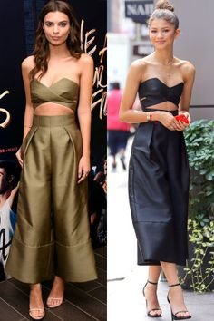 15 times celebrities wore the same outfit. Who do YOU think wore it better? Emily Ratajkowski vs Zendaya