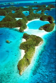 Rock Islands of Palau
