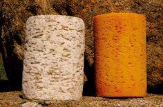 Diferencias entre Fourme D'Ambert y Fourme Montbrison es el color de la corteza uno gris y el otro naranja