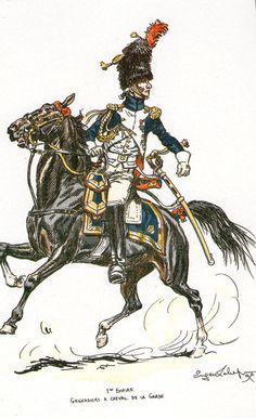 Granatiere a cavallo della guardia imperiale