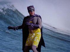 Adam West as Batman 1966 : OldSchoolCool