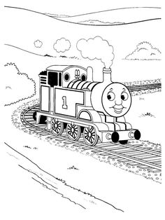 Thomas Washing Coloring Pages For Kids Printable Free See More The Train And Friends Cartoon
