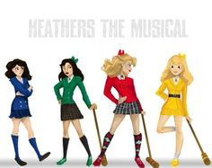 The Heathers & Veronica ❤️ #HeathersTheMusical