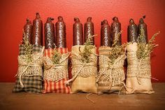 Candle bags...