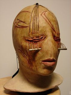 Hellraiser  Deader (2005) original   screen-used // Mask