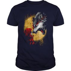Red and Wolf  Best TShirt For Wolf Lovers - Red and Wolf - Best T-Shirt For Wolf Lovers  #funnyshirts #awesomeshirts #hockey #wolfshirts wolf Tshirts