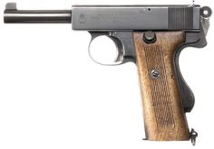 Webley Scott automatic pistol, cal.455, model of 1912.