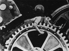 Les Temps Moderne - Charlie Chaplin