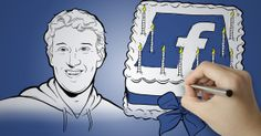 A Hand-Drawn History of Facebook