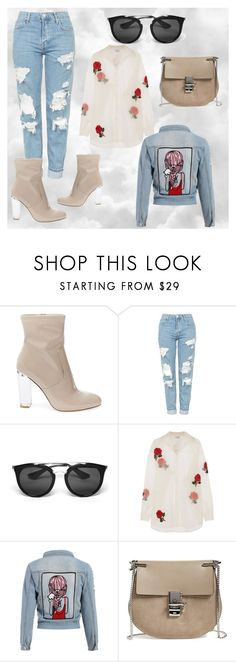 """Untitled #58"" by jk-jednacurica on Polyvore featuring Steve Madden, Topshop, Prada, Ashish and Chloé"