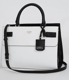2ea390078071 Guess Cate Purse - Women s Accessories in White Multi