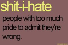 i know alot of people like that...