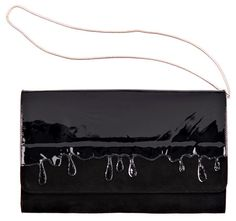 Minna Parikka - Drip Clutch black-black