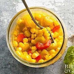 Blue Ribbon Corn Relish Corn Relish Dip, Corn Relish Recipes, Corn Recipes, Canning Corn, Canning Recipes, Canning Tips, Low Acid Recipes, Freezing Apples, Recipes