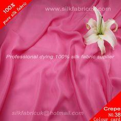 12mm silk crepe de chine fabric- peachblossom http://www.silkfabricuk.com/12mm-silk-crepe-de-chine-fabric-peachblossom-p-367.html