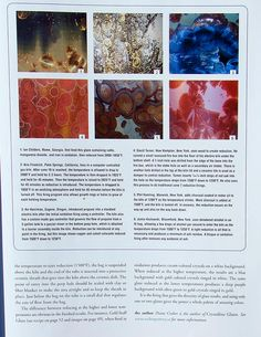 The New World of Crystalline Glazes Ceramic Glaze Recipes, Pottery Techniques, Ceramics Projects, Alkaline Foods, Glazes For Pottery, Ceramic Art, Sculpture Art, Copper, Clay