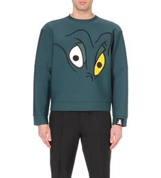 BOBBY ABLEY Flotsam neoprene sweatshirt (Green)