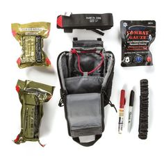 Designed to attach to your vehicle's headrest or any MOLLE or web platform, UCR IFAK Pouch lets you keep blow-out kits or medical essentials within arm's reach. The pouch features a drop-down zippered compartment Tactical Medic, Tactical Shirt, Tactical Bag, Tac Gear, What In My Bag, Bug Out Bag, First Aid Kit, Survival Gear, Urban Survival