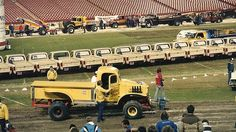 Anaheim+Stadium+%2784+or+%2785 Truck And Tractor Pull, Tractor Pulling, Truck Pulls, Farmhouse Sink Kitchen, Station Wagon, Big Trucks, Mopar, Vintage Cars, Tractors