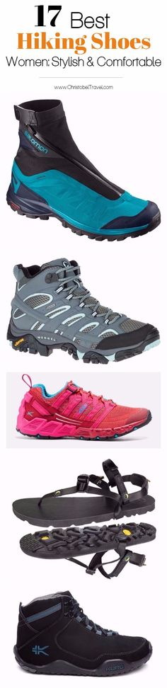 17 Best Hiking Shoes for Women that are Stylish and Comfortable  Stylish Hiking Boots; Fashionable Hiking Boots; Womens Hiking Boots; Hiking Shoes for Women; Waterproof Hiking Shoes; Ladies Walking Boots - #ChristobelTravel #hikingboots #hikingshoes #hikingtrip