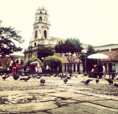 Plaza, Four Square, Notre Dame, Street View, Building, Travel, Board, Colombia, Getting To Know