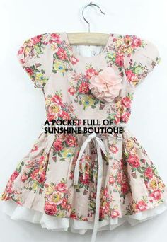 """FLORAL PRINT """"LANA"""" DRESS · A Pocket Full Of Sunshine · Online Store Powered by Storenvy"""