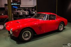 #Ferarri #250 #GT #SWB au salon #TechnoClassica Essen reportage complet : http://newsdanciennes.com/2016/04/11/techno-classica-essen-reportage-plus-grand-salon-deurope/ #ClassicCar #VintageCar #Voiture #Ancienne