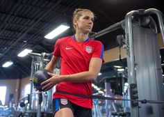 Gallery: WNT Hits the Gym - U.S. Soccer
