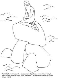 Denmark Coloring Pages Template