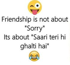 Cute Quotes For Friends, Best Friend Quotes Funny, Funny Attitude Quotes, Cute Funny Quotes, Fun Quotes, Crazy Friends, Funny Dp, Some Funny Jokes, Top Funny