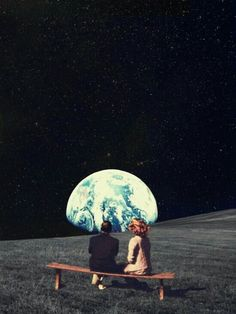 Juntos la tierra se ve más bonita