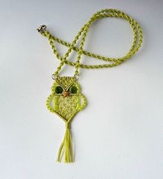 Knot Just Macrame by Sherri Stokey: Macrame Owls for All