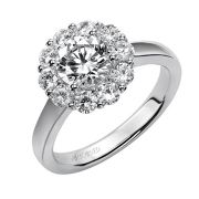 14KW DIAMOND HALO SETTING 10D=.75CT