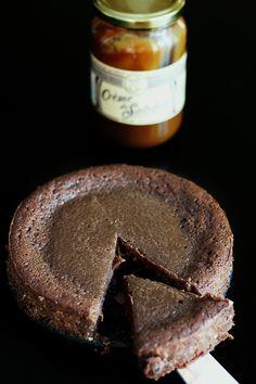Fondant Baulois - Fondant au Chocolat et au Caramel au Beurre Salé, une recette côtémaison
