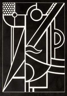Roy Lichtenstein, Modern Head 3, 1970