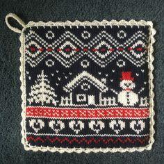 Crochet Potholders, Pot Holders, Knitting Patterns, Diy And Crafts, Cross Stitch, Blanket, Christmas, Potholders, Angel