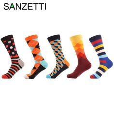 Pack de 6 para Mujer Happy Socks Hotdog Sock Calcetines,
