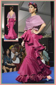 Vestido #flamenca #InmaLinares Finalistas Noveles @WeLoveFlamenco