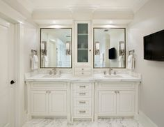 Historic Hillsborough - mediterranean - bathroom - san francisco - Allwood Construction Inc