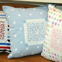 Personalised Panel Cushion - personalised cushions-