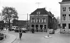 Delft, Hotel Bellevue, hoek Zuidwal en Oude Delft