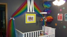 Mallory's Somewhere Over the Rainbow Nursery. Wizard of Oz. DIY.