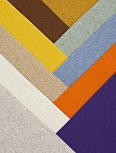 KVADRAT // Design, résistance, sobriété sont les maîtres mots de ce fabricant de tissus danois // 33 Rue Charlot 75003 Paris  01 4244 2929