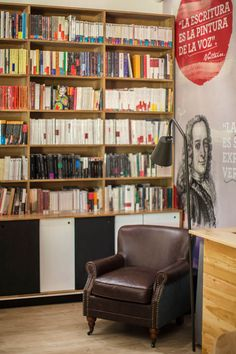 Modern Bookstore in Colombia Encourages Exploration, Relaxation - http://freshome.com/modern-bookstore-in-colombia/