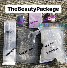 lip gloss business packaging DIY Lipgloss Kit//Make your own lipgloss kit thebeautypackage Glitter Lip Gloss, Diy Lip Gloss, Glitter Lips, Lip Gloss Homemade, Beauty Packaging, Lip Care, Buisness, Diy Beauty, Face Beauty