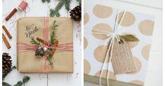 Formas originales para envolver regalos